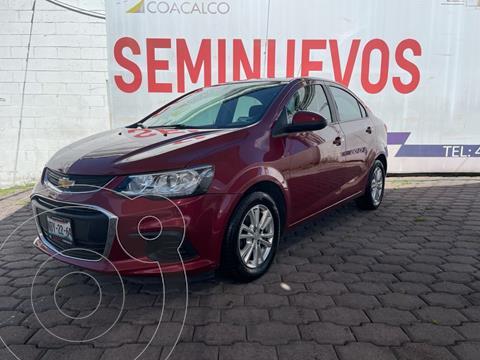 Chevrolet Sonic LT usado (2017) color Rojo precio $170,000