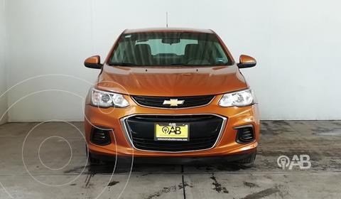 Chevrolet Sonic LT usado (2017) color Ocre precio $188,000
