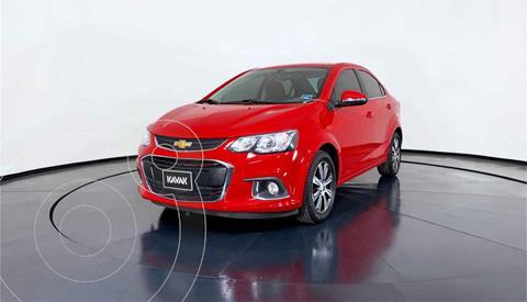 Chevrolet Sonic Premier Aut usado (2017) color Rojo precio $199,999