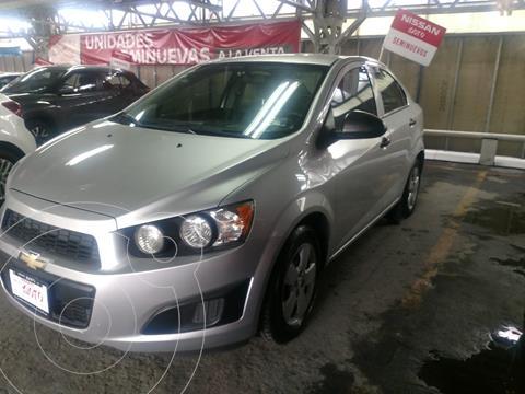 Chevrolet Sonic LS usado (2013) color Plata financiado en mensualidades(enganche $35,296 mensualidades desde $4,357)