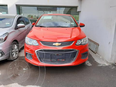 Chevrolet Sonic LT HB usado (2017) color Rojo precio $165,000