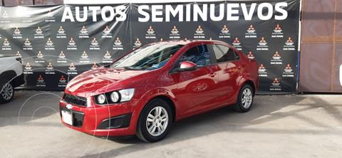 Chevrolet Sonic LS usado (2016) color Rojo Tinto precio $143,000