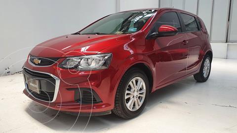 Chevrolet Sonic LT HB usado (2017) color Rojo precio $155,000