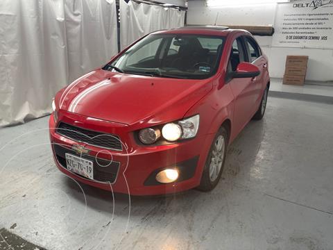 Chevrolet Sonic Premier Aut usado (2016) color Rojo precio $160,000