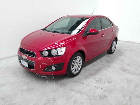 Chevrolet Sonic LTZ Aut usado (2016) color Rojo precio $188,000