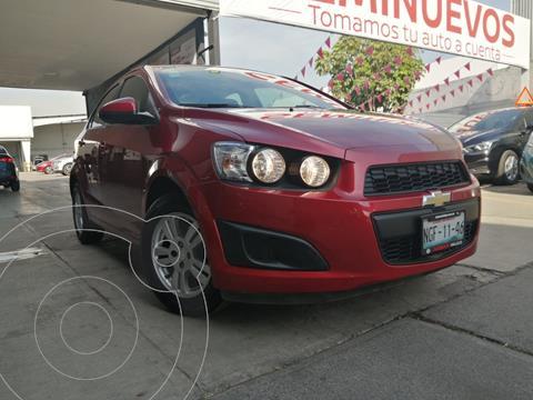 Chevrolet Sonic LT usado (2016) color Rojo precio $149,800