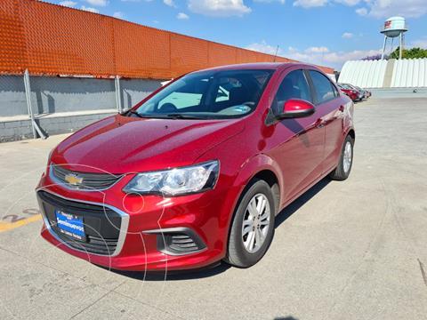 Chevrolet Sonic LTZ Aut usado (2017) color Rojo Tinto precio $179,000