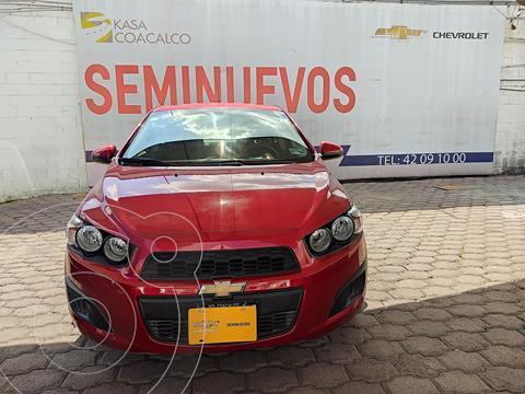 Chevrolet Sonic LT usado (2016) color Rojo precio $150,000