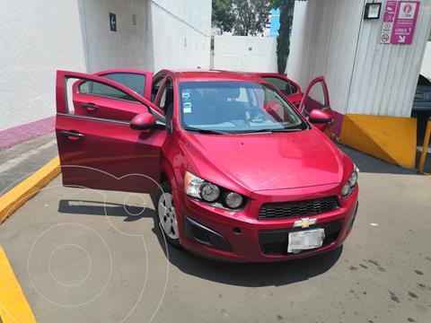Chevrolet Sonic LS usado (2014) color Rojo Tinto precio $90,000