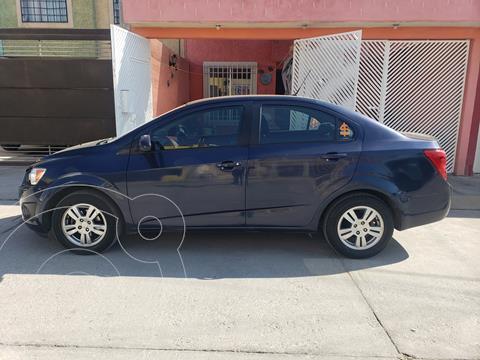 Chevrolet Sonic LT usado (2014) color Azul Electrico precio $138,500