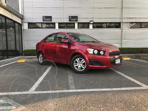 Chevrolet Sonic LT usado (2015) color Rojo precio $130,000