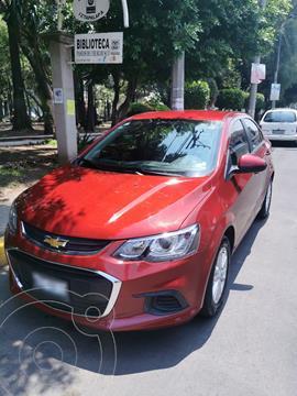 Chevrolet Sonic LT usado (2017) color Rojo Tinto precio $151,900