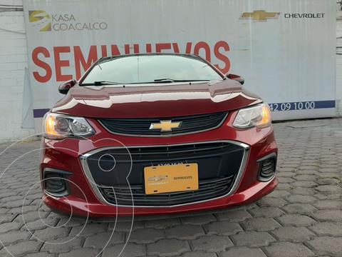 Chevrolet Sonic LT Aut usado (2017) color Rojo precio $150,000