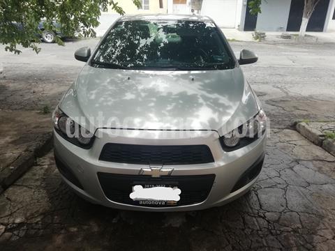 Chevrolet Sonic LT usado (2016) color Plata precio $129,000