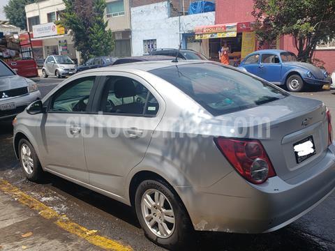 Chevrolet Sonic LT usado (2015) color Plata precio $115,000