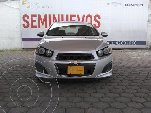 Chevrolet Sonic LS usado (2012) color Plata Dorado precio $145,000