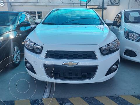 Chevrolet Sonic LTZ Aut usado (2014) color Blanco precio $140,000