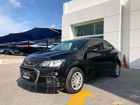 Chevrolet Sonic LS usado (2017) color Negro precio $170,000