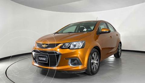 Chevrolet Sonic Premier Aut usado (2017) color Naranja precio $192,999