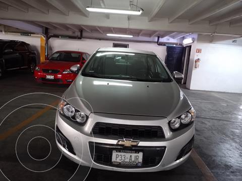 Chevrolet Sonic LT Aut usado (2016) color Plata financiado en mensualidades(enganche $29,980 mensualidades desde $4,440)