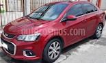 Chevrolet Sonic Premier Aut usado (2017) color Rojo Tinto precio $185,000