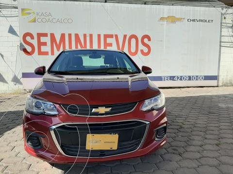 Chevrolet Sonic LT usado (2017) color Rojo precio $175,000
