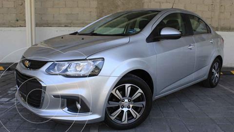 Chevrolet Sonic Premier Aut usado (2017) color Plata precio $198,000