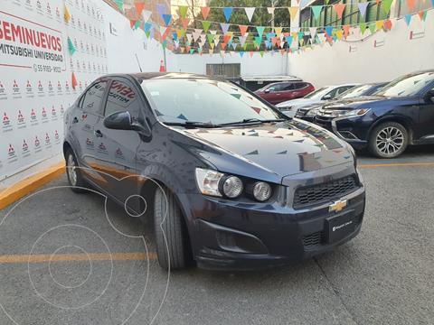 Chevrolet Sonic LT usado (2016) color Azul Naval precio $155,000
