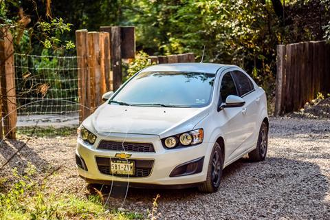 Chevrolet Sonic LT Aut usado (2014) color Blanco Galaxia precio $117,000