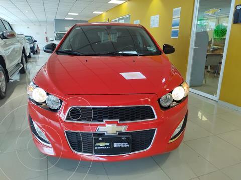 Chevrolet Sonic LT HB usado (2015) color Rojo precio $194,900