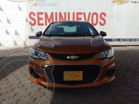 Chevrolet Sonic LS usado (2017) color Ocre precio $165,000