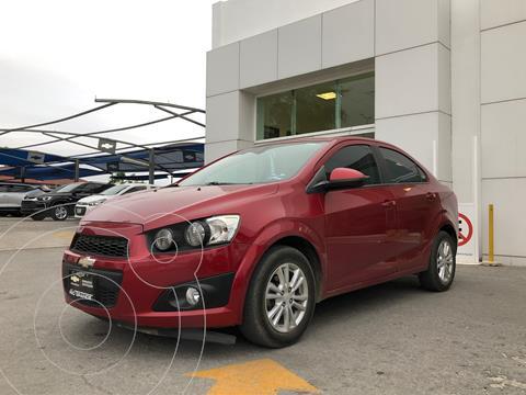 Chevrolet Sonic LT usado (2016) color Rojo precio $135,000
