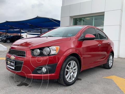 Chevrolet Sonic LTZ Aut usado (2015) color Rojo precio $195,000