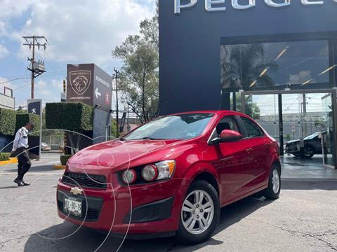 Chevrolet Sonic LT usado (2015) color Rojo precio $132,900