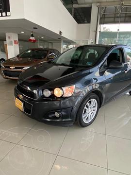 Chevrolet Sonic LTZ Aut usado (2015) color Gris Oscuro precio $175,000
