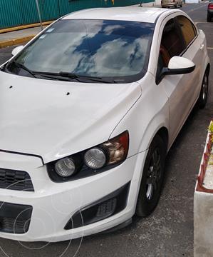 Chevrolet Sonic LT usado (2015) color Blanco Galaxia precio $99,000