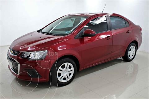 Chevrolet Sonic LT Aut usado (2017) color Rojo precio $185,000
