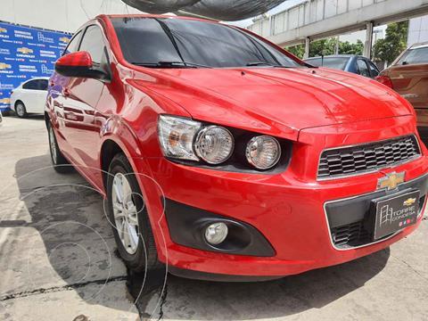 foto Chevrolet Sonic LTZ Aut usado (2016) color Rojo precio $163,000