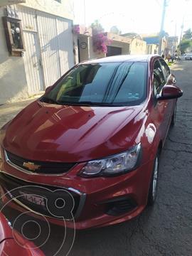 Chevrolet Sonic LT Aut usado (2017) color Rojo precio $158,000