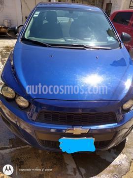 Chevrolet Sonic LS usado (2013) color Azul Electrico precio $80,000