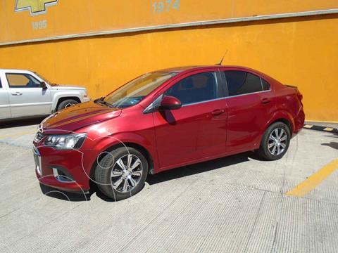 Chevrolet Sonic Premier Aut usado (2017) color Vino Tinto precio $190,000
