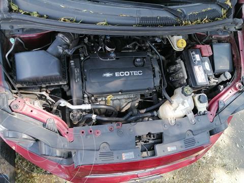 Chevrolet Sonic LT usado (2014) color Rojo Tinto precio $100,000