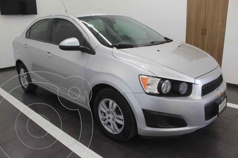 Chevrolet Sonic LT usado (2014) color Plata precio $120,000