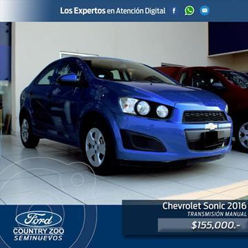 Chevrolet Sonic LS usado (2016) color Azul Electrico precio $155,000