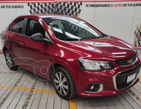 Chevrolet Sonic Premier Aut usado (2017) color Rojo financiado en mensualidades(enganche $90,000 mensualidades desde $2,245)