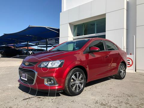 Chevrolet Sonic Premier Aut usado (2017) color Rojo precio $195,000