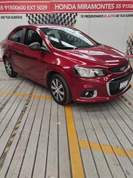 Chevrolet Sonic Premier Aut usado (2017) color Rojo Tinto financiado en mensualidades(enganche $48,750 mensualidades desde $3,978)