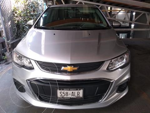 Chevrolet Sonic LT usado (2017) color Plata Brillante precio $155,000