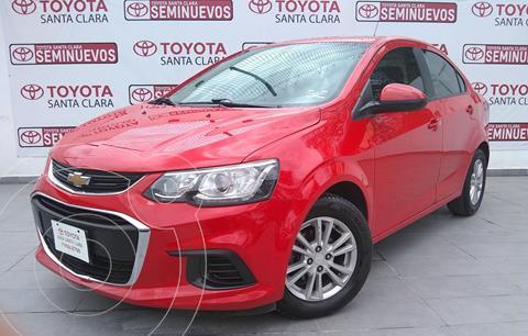 Chevrolet Sonic LT Aut usado (2017) color Rojo precio $180,000