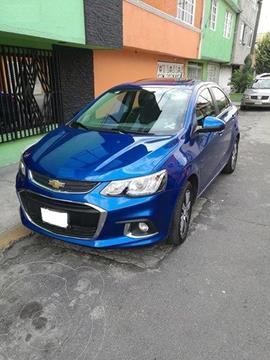 Chevrolet Sonic Premier Aut usado (2017) color Azul Naval precio $110,000